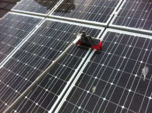 solarpanel cleaning